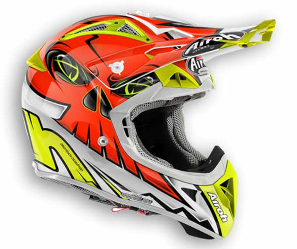 casco da cross airoh