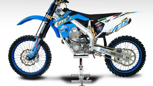 cavalletto per moto da cross