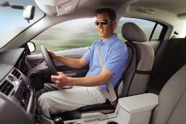 schienale massaggiante per auto