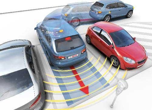 sensori di parcheggio economici