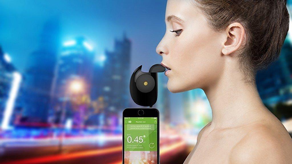 Etilometro portatile per Android