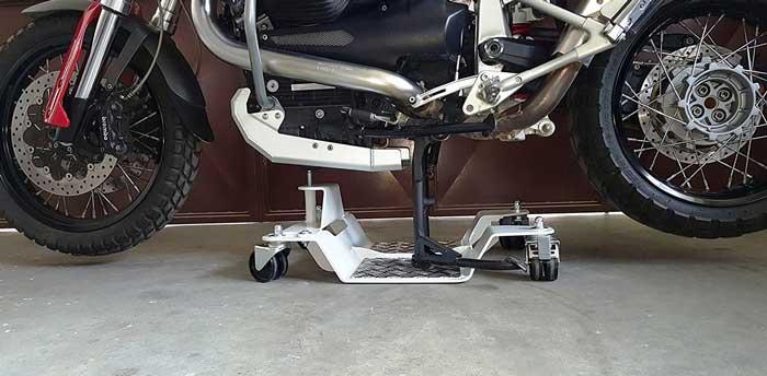 Cerchi una carrello sposta moto resistente duraturo e for Carrello sposta moto cavalletto laterale