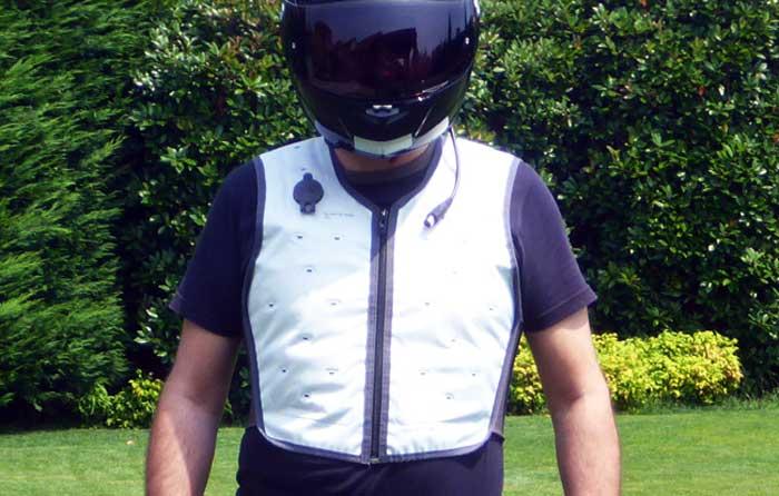 Abbigliamento rinfrescante refrigerante da moto