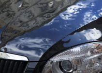 Auto rovinata dalla grandine