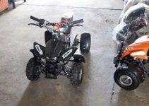 mini quad con motore a scoppio