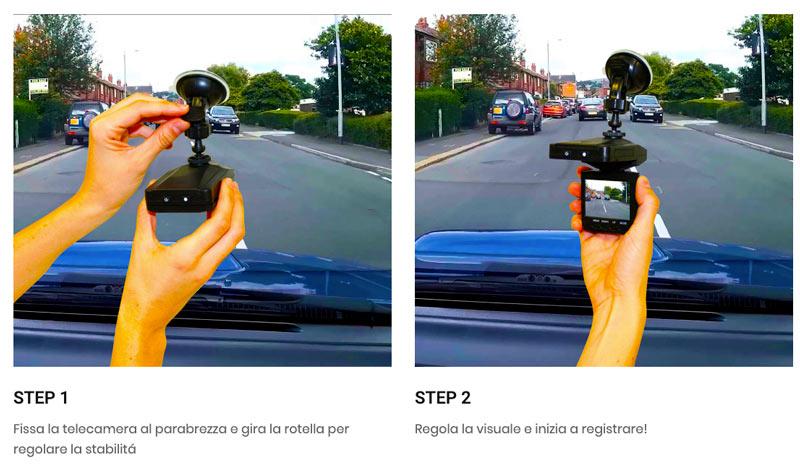 Come usare Viz Car Camera