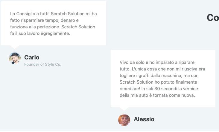 Recensioni e opinioni su Scratch Solution