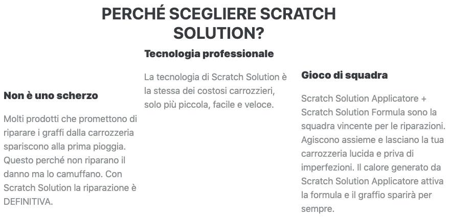 Come funziona Scratch Solution